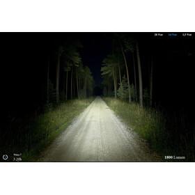 Lupine Wilma 7 Helmlampe schwarz